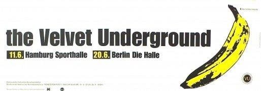Velvet Underground – Huge 1993 German Concert Poster