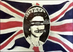 "Sex Pistols – Original UK ""God Save The Queen"" Promo Poster"
