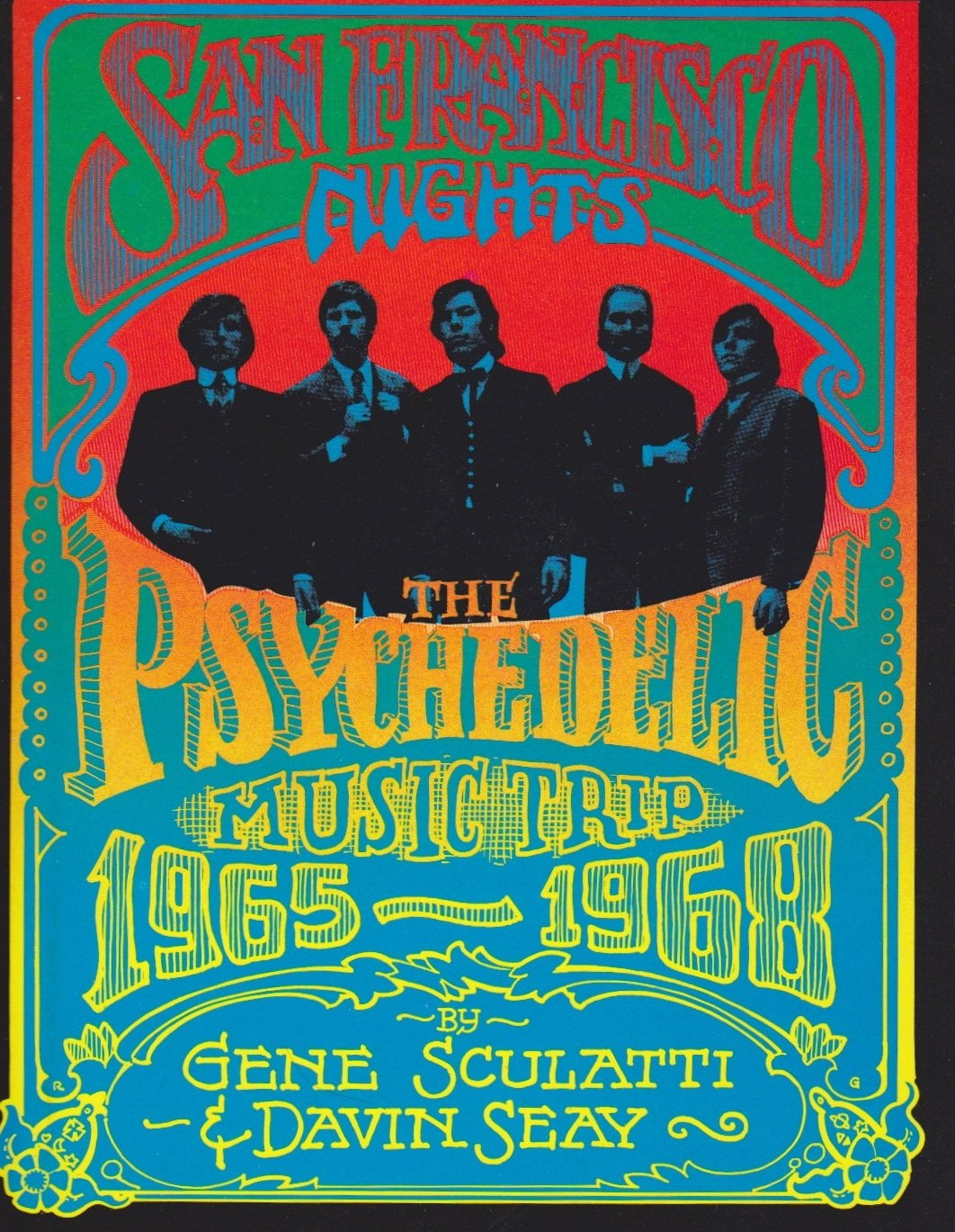 Rick Griffin Original Book Cover Psychedelic Artwork
