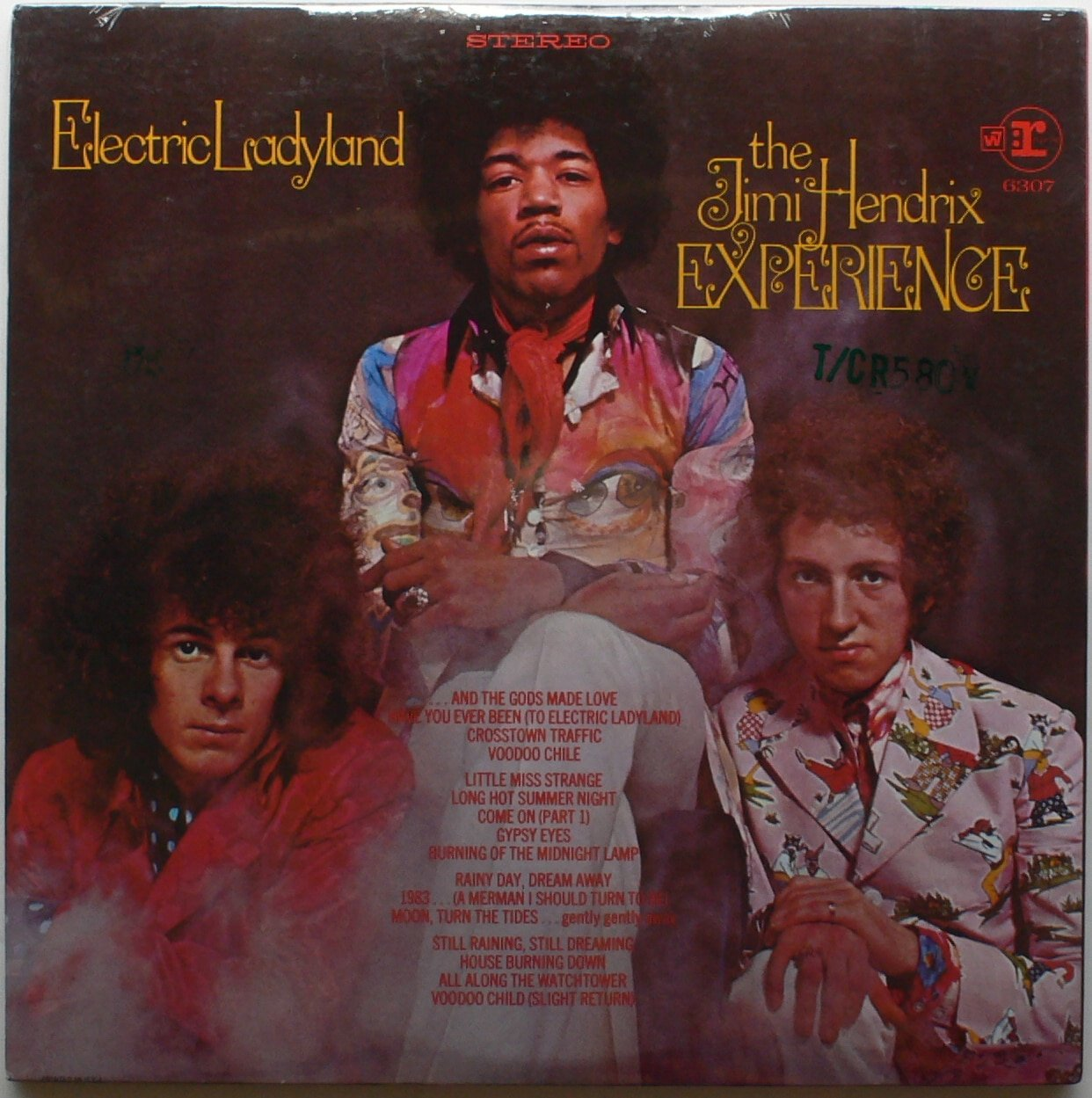 Voodoo Child Texteffect |Electric Ladyland Album Cover