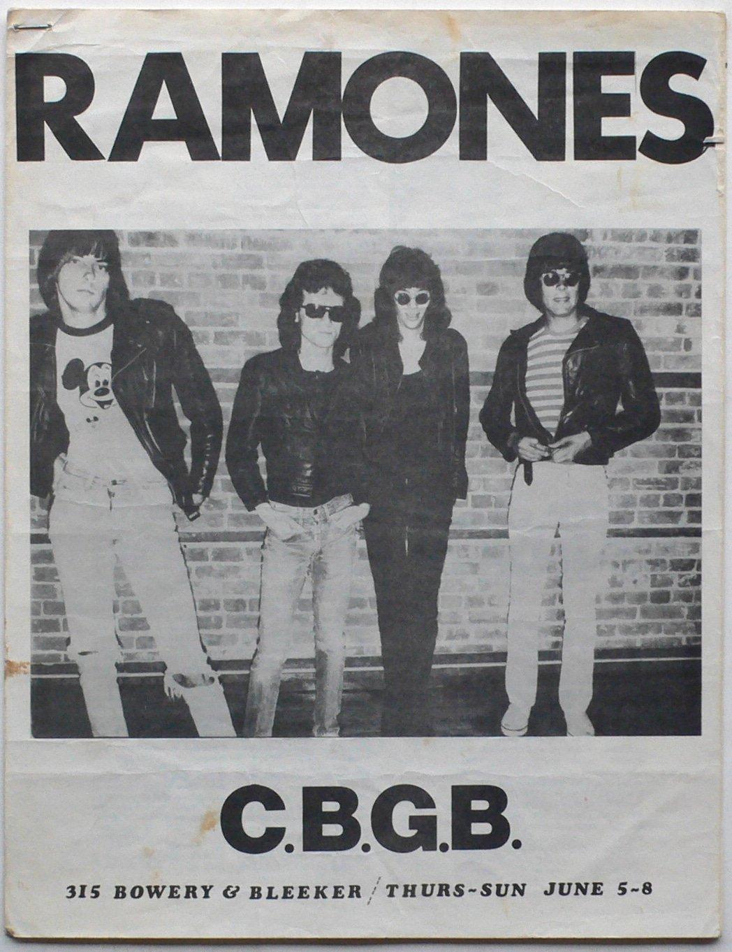 The ramones cbgb