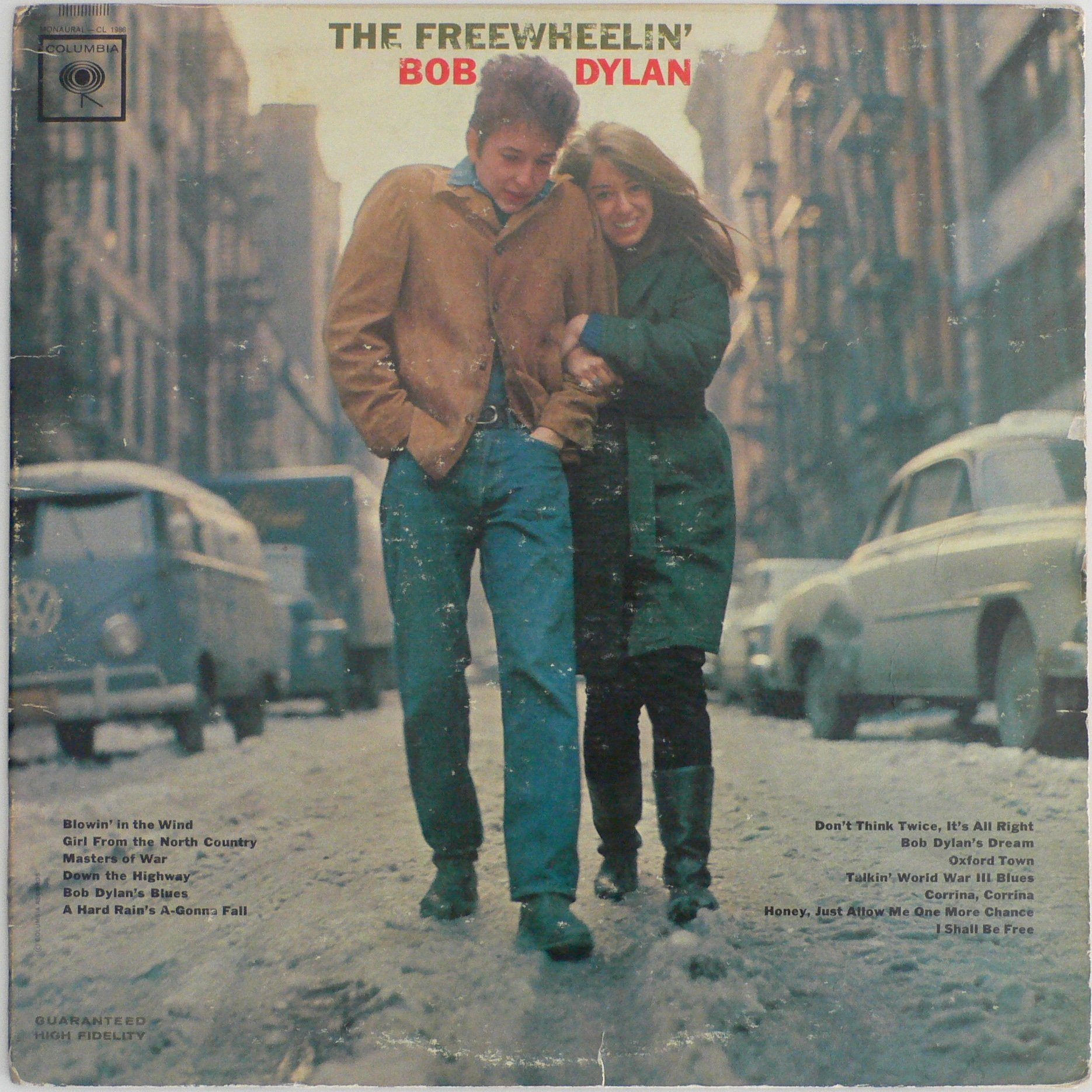 Bob Dylan Original Freewheelin Album With 4 Withdrawn