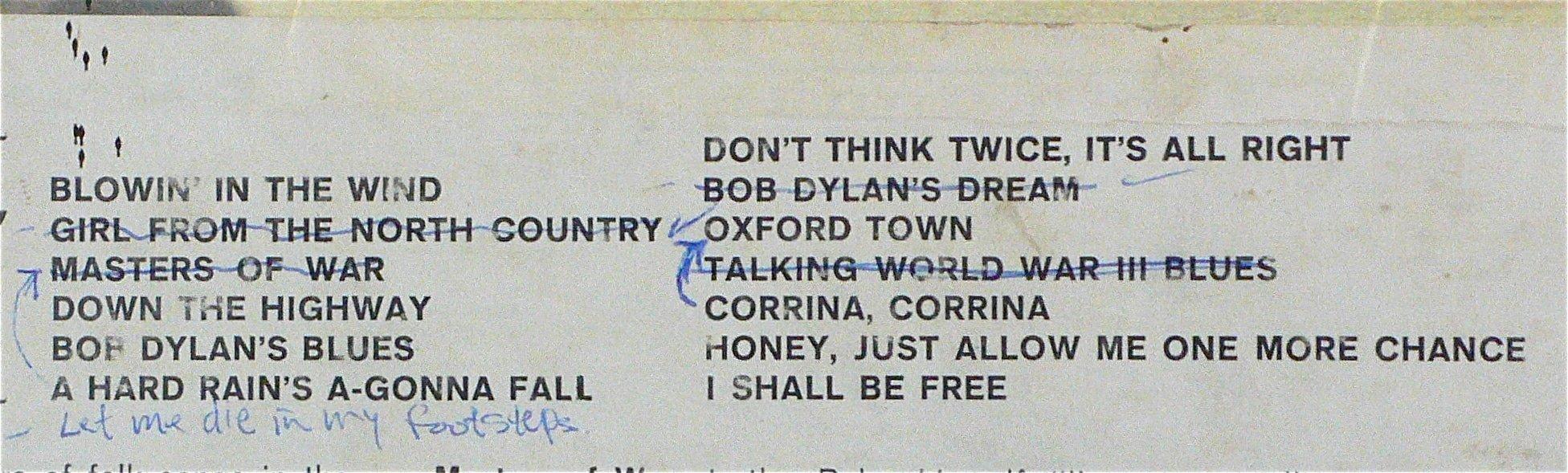 "An Original ""Freewheelin' Bob Dylan"" With 4 Withdrawn Tracks Surfaces"