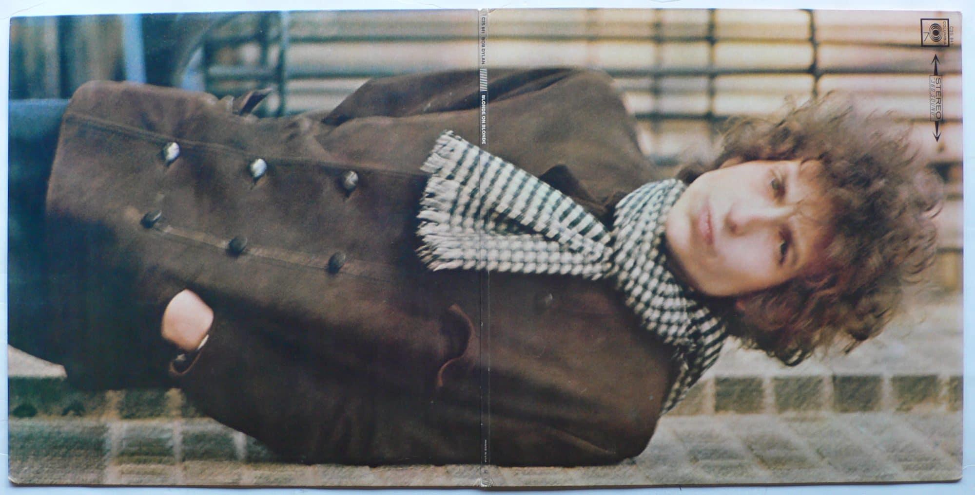 Bob Dylan Near Mint First Pressing Blonde