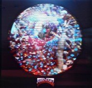"""Neil Young & Pearl Jam – Unique Prototype """"Mirror Ball"""" Hologram Display"""