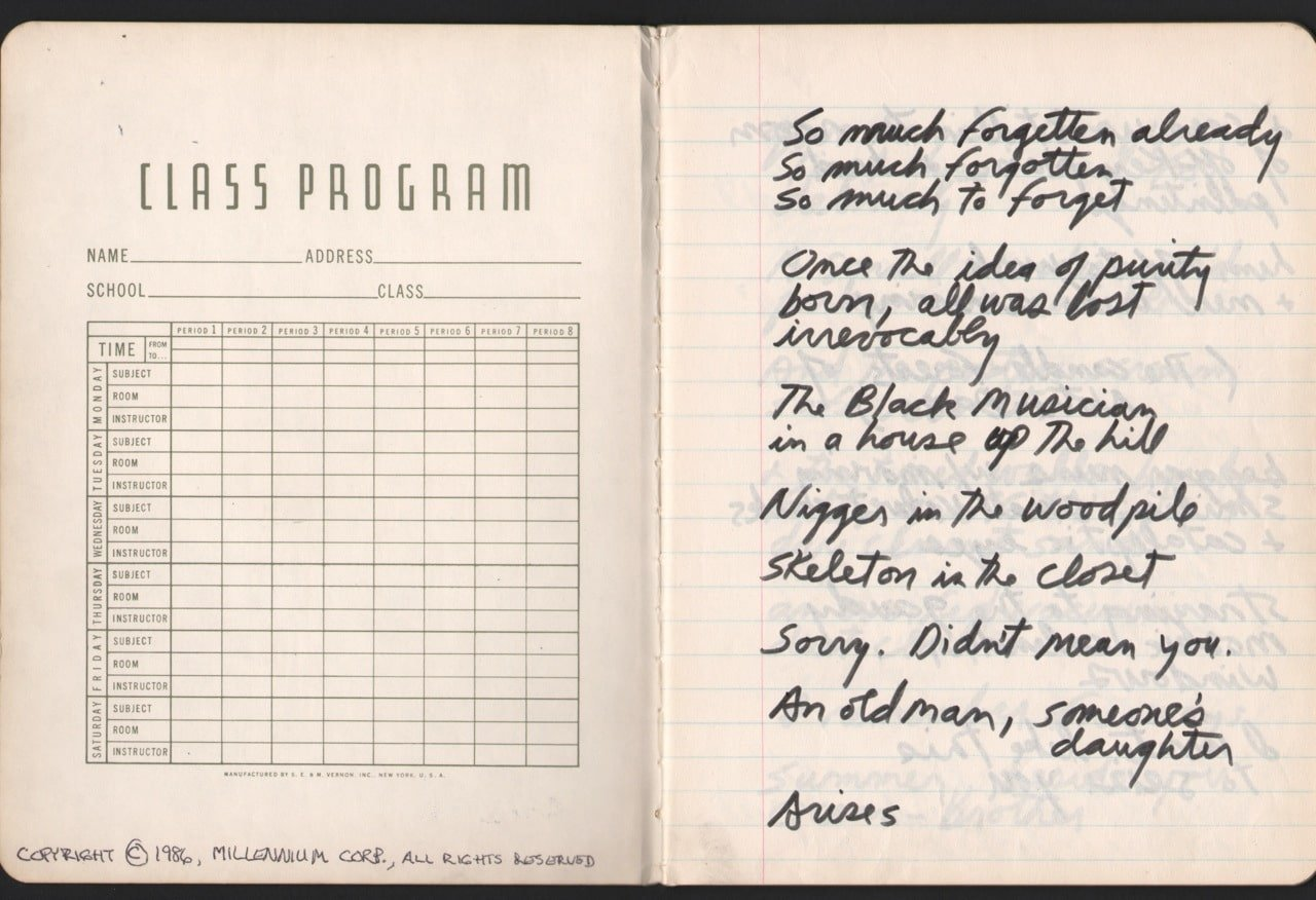 "Jim Morrison – 1971 ""Paris Journal"" Manuscript / Notebook ..."
