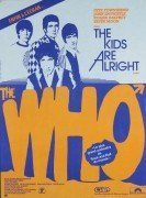 """The Who – 1979 French """"The Kids Are Alright"""" Movie Poster"""