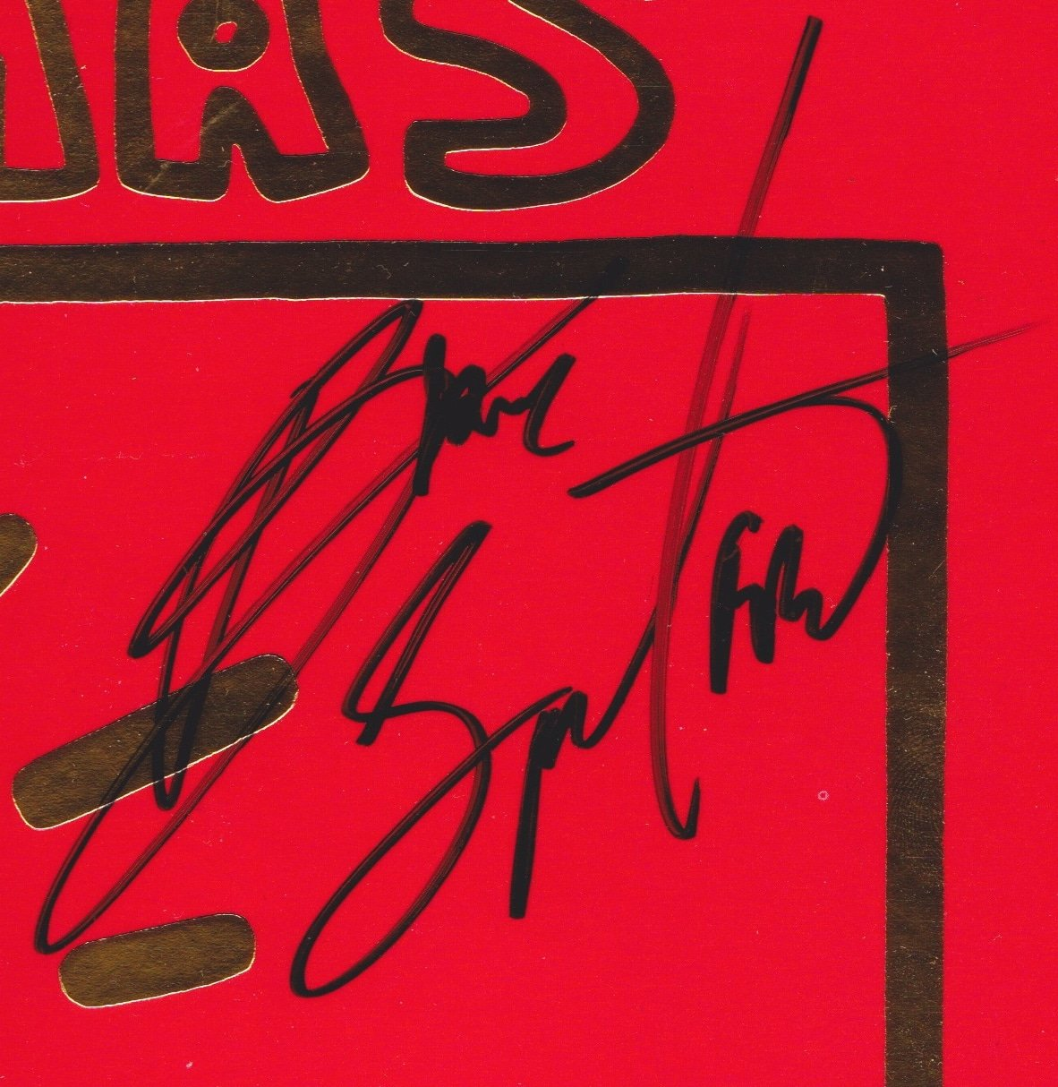 bruce springsteen bob seger john mellencamp signed very special christmas album