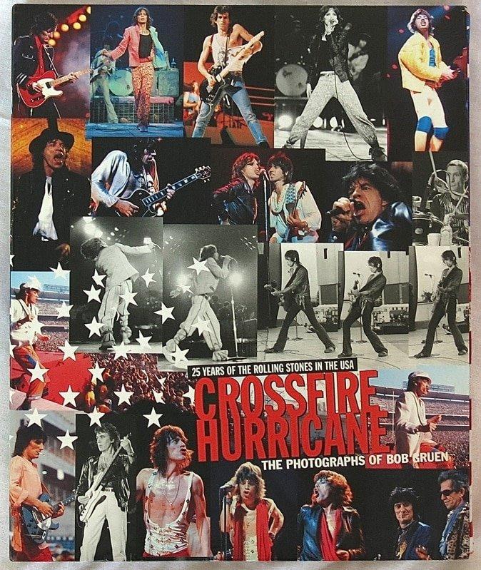 Bildergebnis für fotos vom signed original bob gruen crossfire hurrican buch