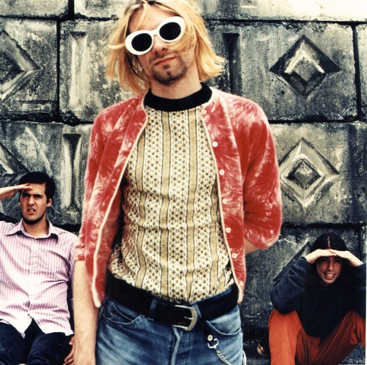 nirvana � original color photograph by anton corbijn