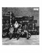 "Allman Brothers Band – Original Jim Marshall Photograph ""At Fillmore East"" Album Cover"