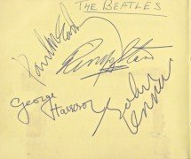 The Beatles – 1963 Signed Autograph Book With Frank Caiazzo Letter of Authenticity