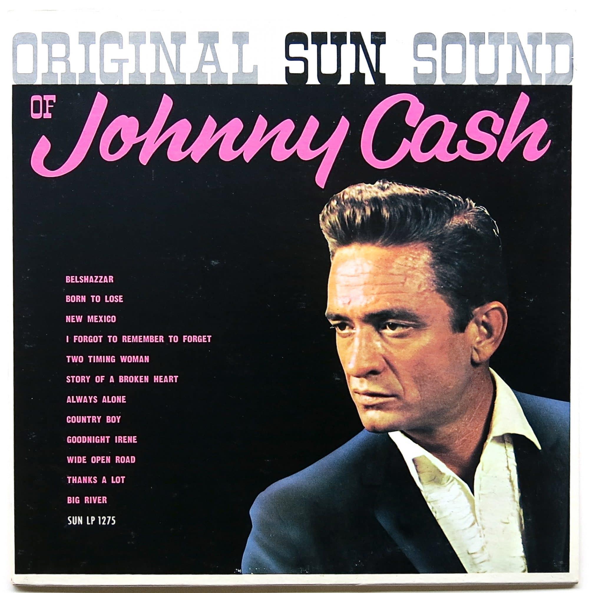 johnny cash � �original sun sound of johnny cash� 1964 lp