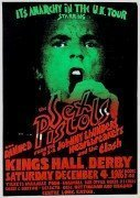 "Sex Pistols / Clash / Damned – Original 1976 ""Anarchy Tour"" Concert Poster"