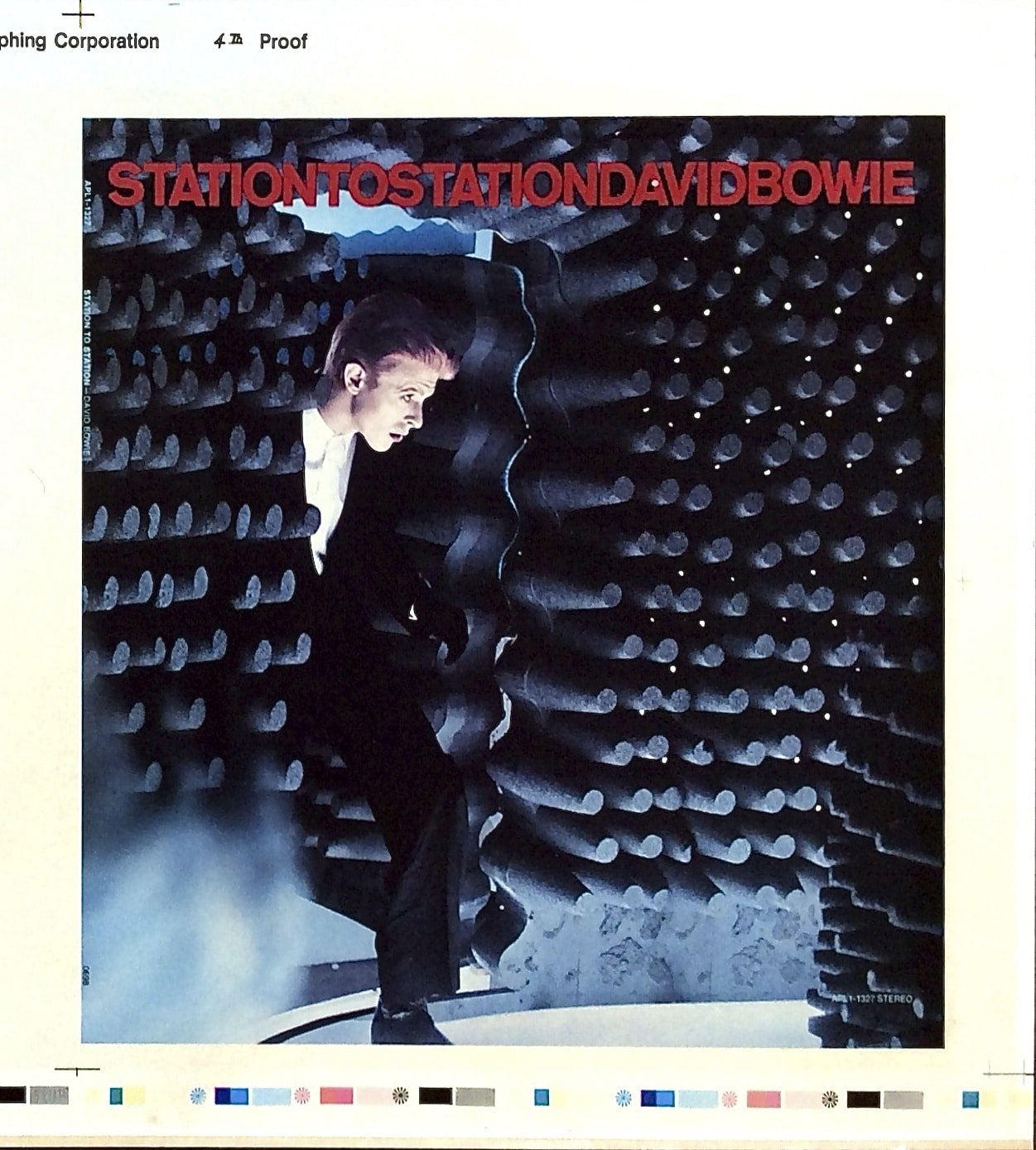 Station To Station Picture Framed Canvas Print David Bowie