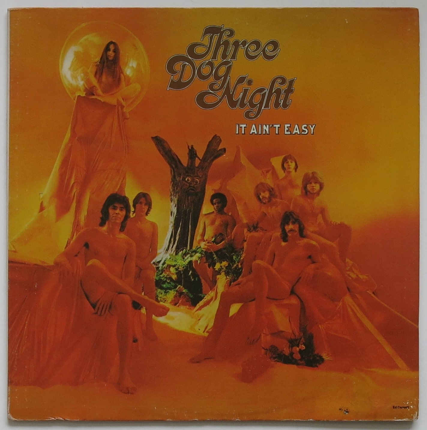 Three Dog Night Withdrawn Nude Cover It Ain T Easy Lp