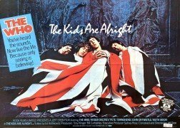 "The Who – Original 1979 UK Quad ""The Kids Are Alright"" Movie Poster"