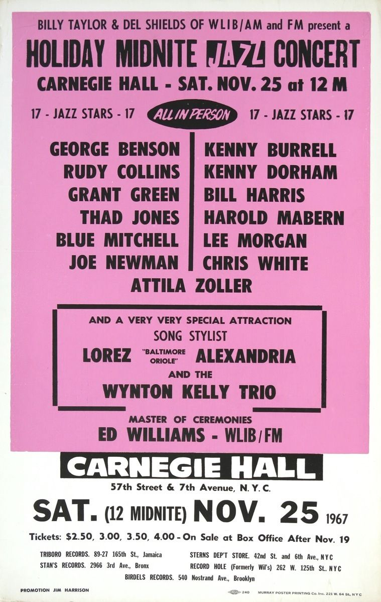 Morgan Poster Poster – Lee Morgan