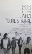 The Doors – When You're Strange Movie Poster Signed by Manzarek, Densmore and Krieger