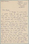 "George Harrison – Handwritten Letter From ""Rubber Soul"" Era With Bealtes Content"