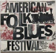 Muddy Waters, Sonny Boy Williamson, Willie Dixon, Others – 1963 American Folk Blues Festival Tour Program