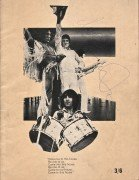 """The Who – Signed 1969 """"Tommy"""" Concert Program"""
