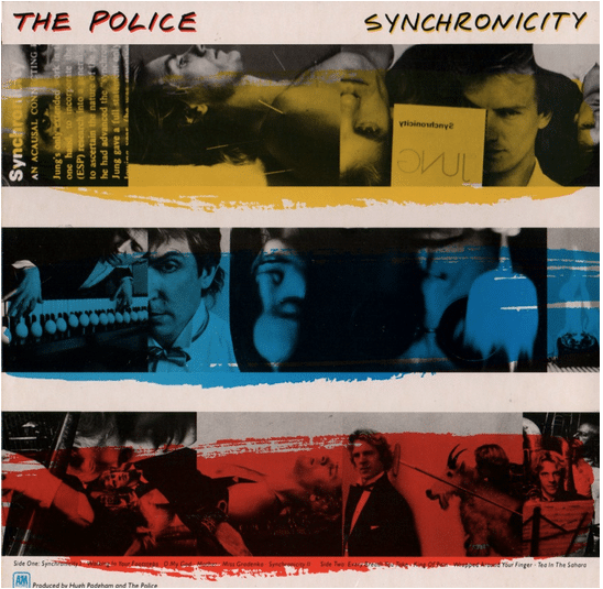 The Police Original Photograph Used On Synchronicity