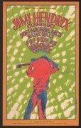 Jimi Hendrix / MC5 – 1968 Grande Ballroom Detroit Handbill / Gary Grimshaw
