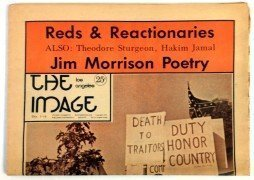 "Jim Morrison – Rare 1969 ""L.A. Image"" Newspaper With Unpublished Poem (The Doors)"