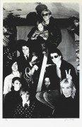 Velvet Underground & Nico & Andy Warhol – Signed Billy Name Serigraph