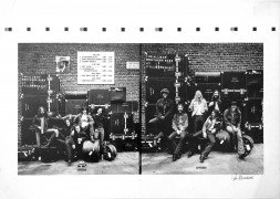 "Allman Brothers Band – Alternate ""At Fillmore East"" Album Cover Proofs Signed by Jim Marshall"