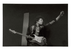Jimi Hendrix – Huge 16″ x 20″ Jim Marshall Photograph – Monterey Pop Festival