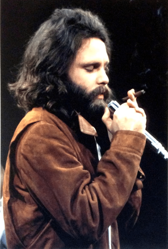 The Doors Jim Morrison Stage Used Ev 676 Microphone With Photograph And Impeccable Provenance