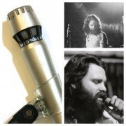 The Doors – Stage-Used AKG D-1000 Microphone with Photograph and Impeccable Provenance