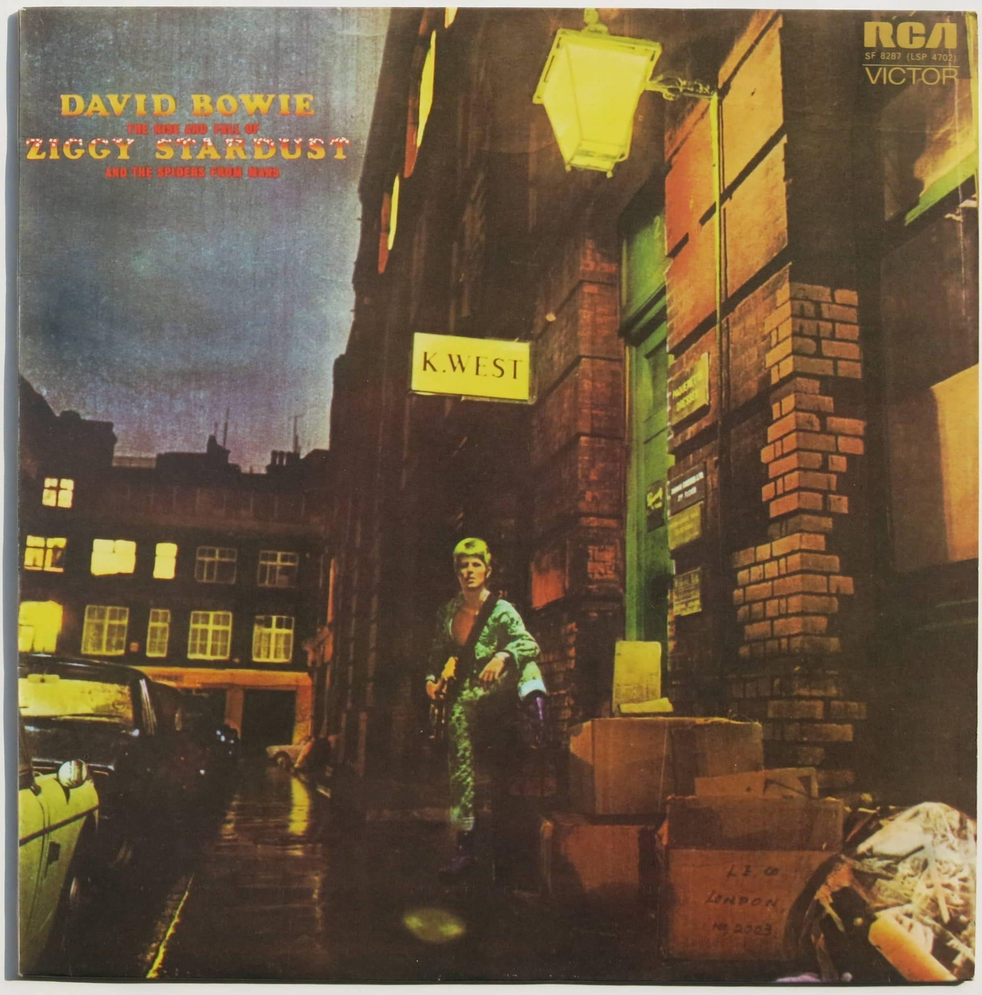 David Bowie Mint Uk 1st Pressing Ziggy Stardust Lp
