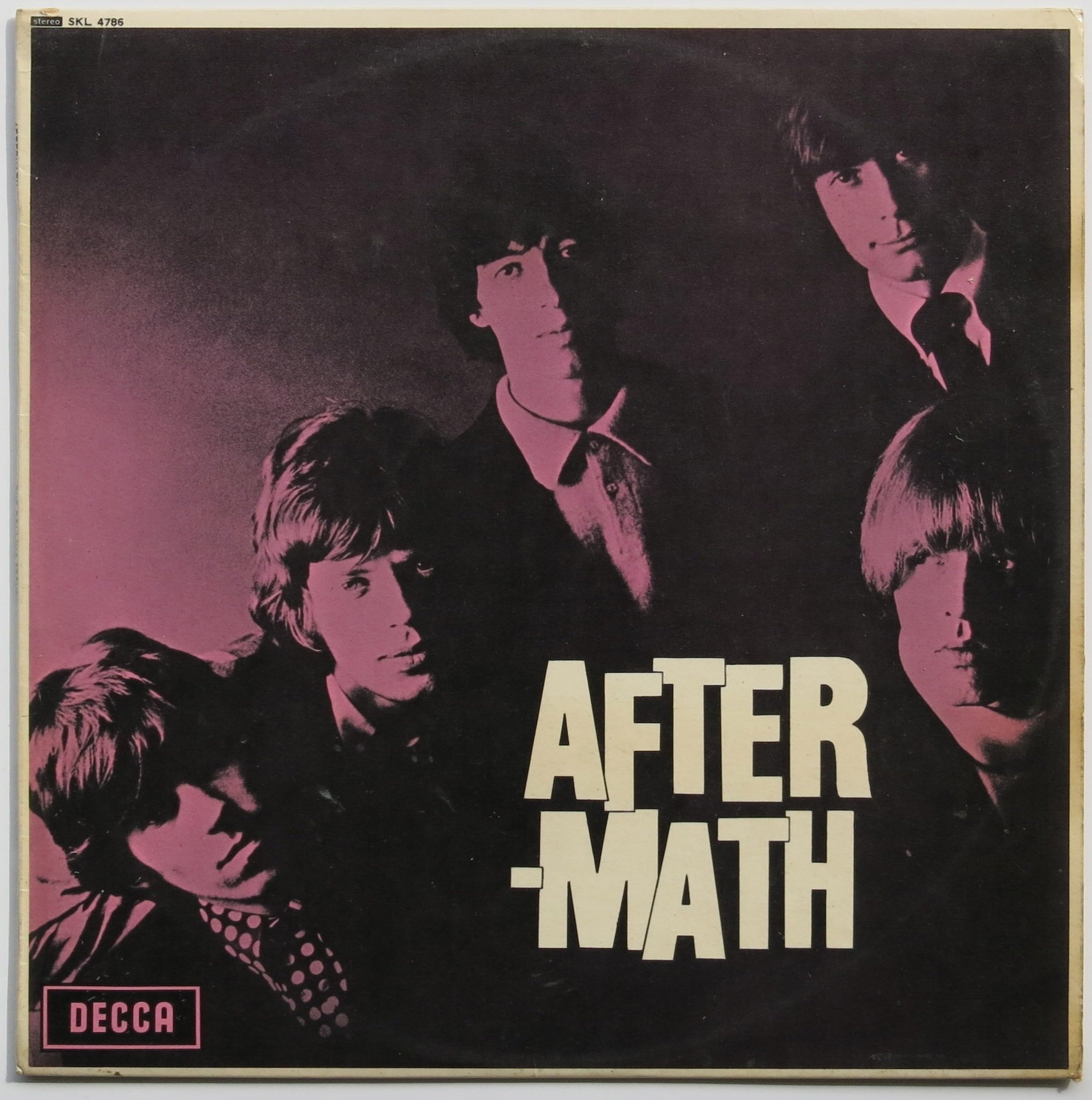 Rolling Stones Uk Stereo 1st Press Aftermath Lp