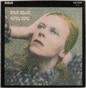"David Bowie – 1st Pressing ""Hunky Dory"" LP With Laminated Cover"
