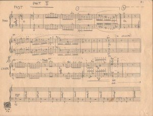 MUSICAL SCORE 1