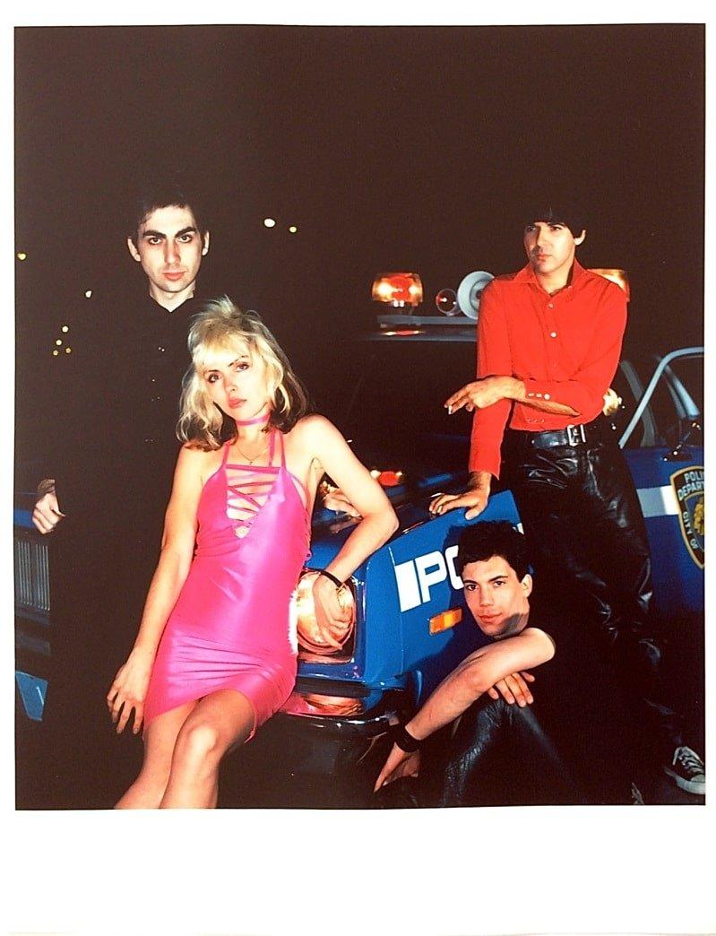 "Blondie Original ""Plastic Letters"" Album Cover Outtake Photograph 16 ..."