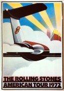 Rolling Stones – Original 1972 American Tour Concert Poster (Framed)