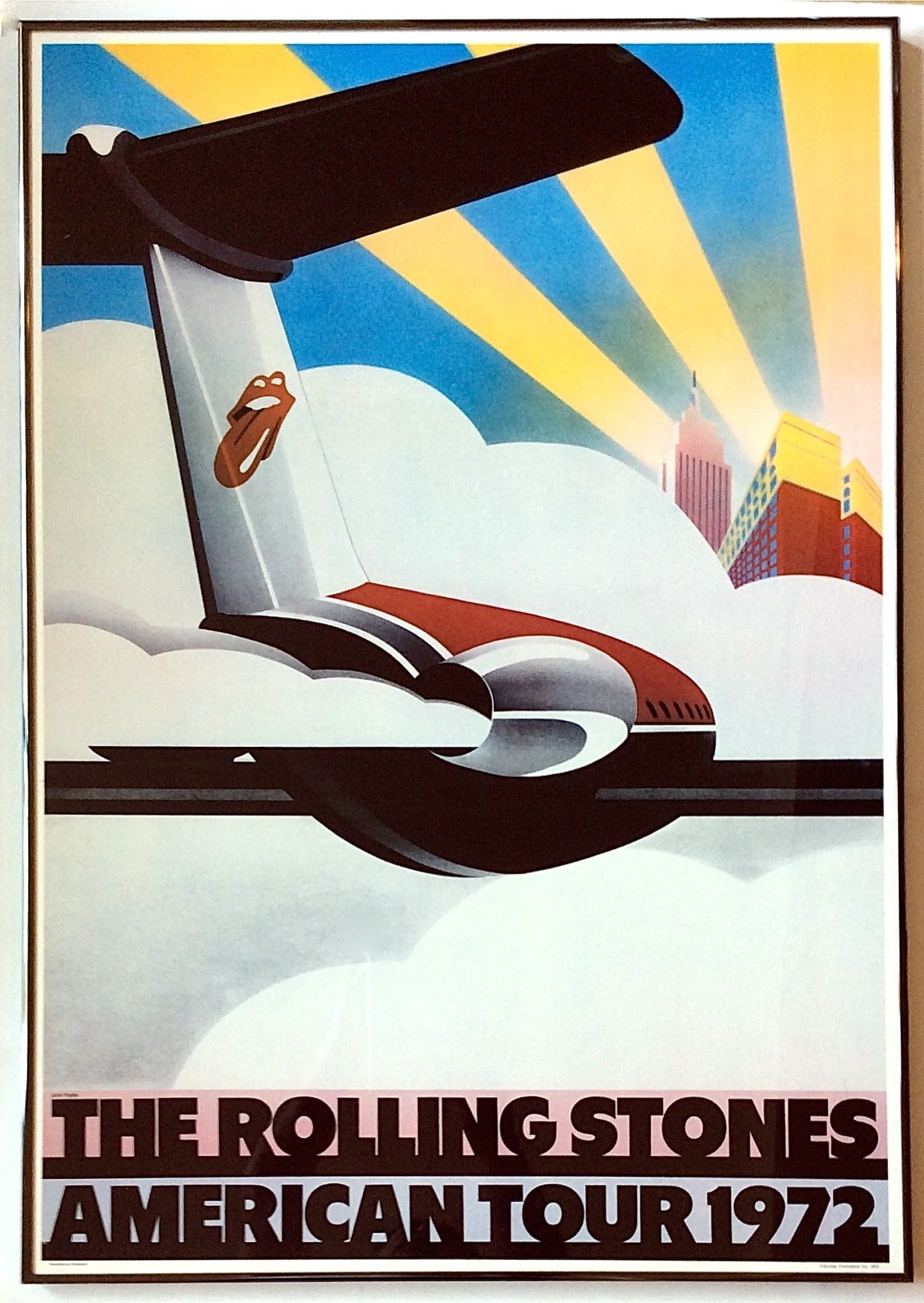 The Rolling Stones American Tour Poster