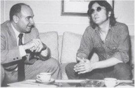 Paul Drew and Lennon