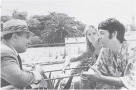 Paul Drew and McCartney