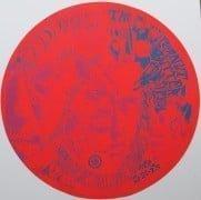 The Doors – 1967 Kaleidoscope #2 Round Concert Poster