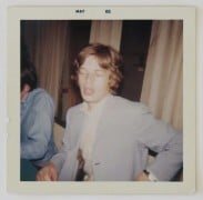 Rolling Stones – 1965 Mick Jagger Snapshot and Autograph