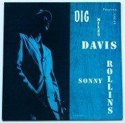 "Miles Davis Featuring Sonny Rollins – Near Mint ""Dig"" Prestige LP"