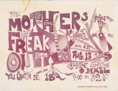 "Frank Zappa/Mother of Invention – Rare 1966 ""Son of  Guambo"" Handbill"