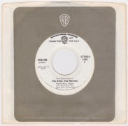 "The Kinks & Van Morrison – Rare Warner Bros. Promo ""Radio  Spot"" 45"