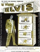 Elvis Presley – Rare 1961 Handbill/Small Poster for Pearl Harbor Benefit