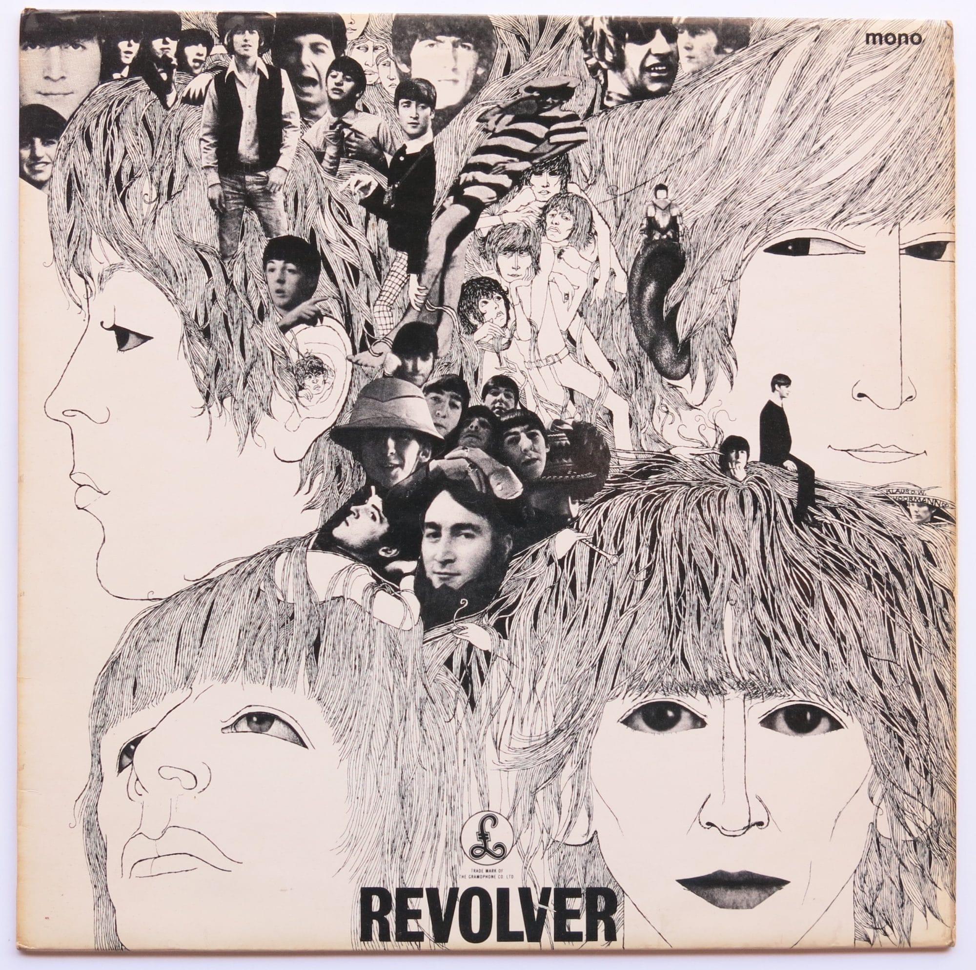 The Beatles Uk Mono 1st Press Revolver Lp With